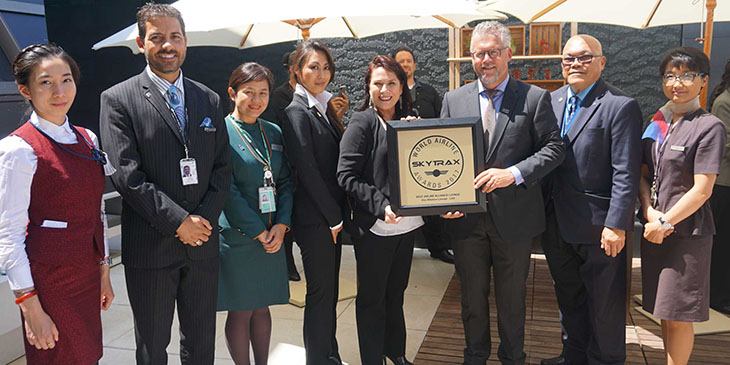Star Alliance Los Angeles Lounge Voted Best Alliance Lounge at Skytrax World Airline Awards