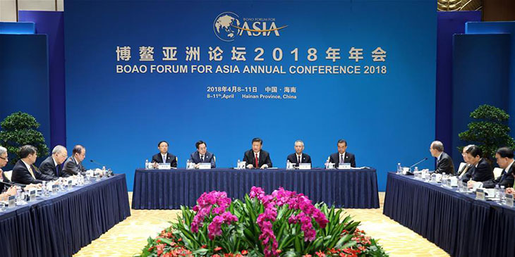 Xi says Belt and Road Initiative not an intrigue of China
