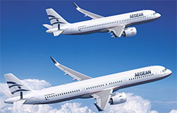 AEGEAN Airlines Orders 30 Airbus Aircraft