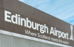 Edinburgh Airport is the busiest airport in Scotland
