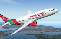 Kenya Airways reports €34 million loss