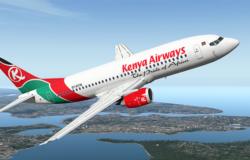 Kenya Airways reports €34 million loss