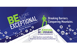 Challenge Yourself to BE EXCEPTIONAL with PCEB and TTGmice at BE @ Penang 2018
