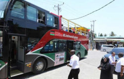 New sightseeing bus unveiled in Mombasa