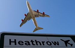Man with 'knife' arrested at Heathrow Airport