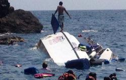 Phuket tourists rescued from capsizing speedboat
