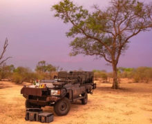 First electric game vehicles spotted in Sabi Sands