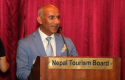 A proud day for CEO Deepak Raj Joshi and the Nepal Tourism Board