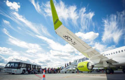 airBaltic serves more than 500,000 passengers in June