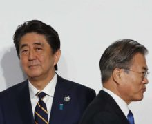 Rising tensions between South Korea and Japan