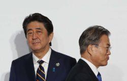 Rising tensions between South Korea and Japan