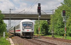Tourists in Germany choose trains