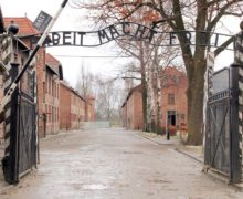 Record of visitors at Auschwitz Museum