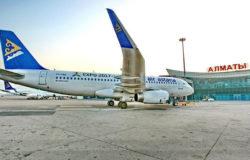 Almaty to Mumbai on Air Astana