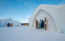 Spend a night in the Canadian Ice Hotel