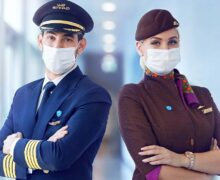 Eithad as the first airline with 100 percent crew members vaccinated