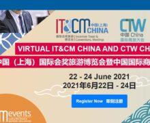 IT&CM China and CTW China Virtual 2021
